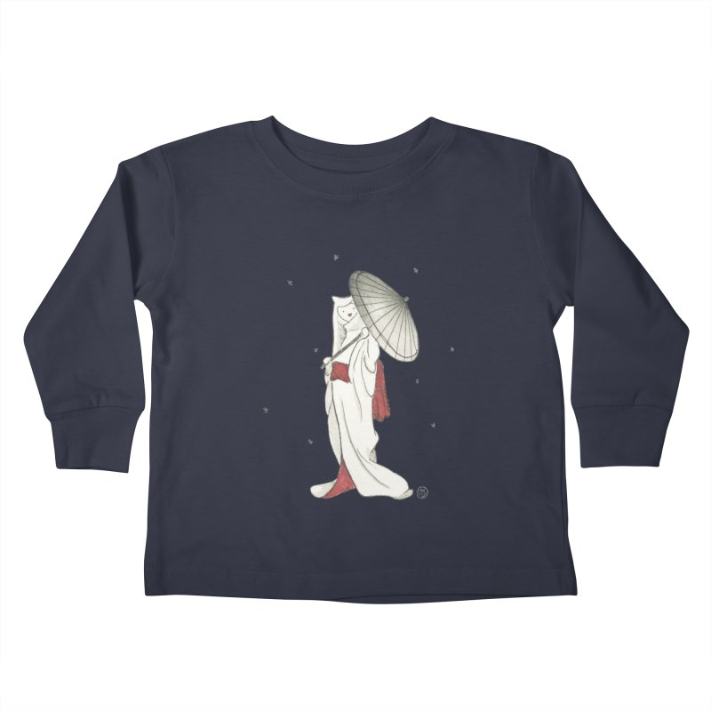Yuki Hime  Kids Toddler Longsleeve T-Shirt by stephanieinagaki's Artist Shop
