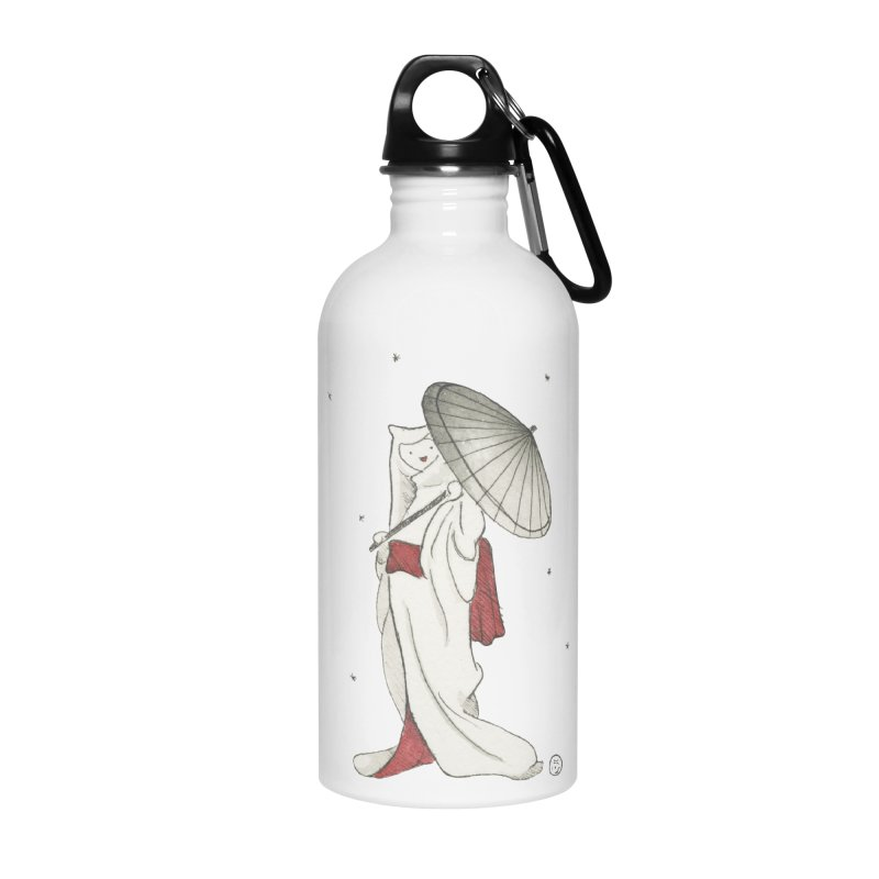 Yuki Hime  Accessories Water Bottle by Stephanie Inagaki