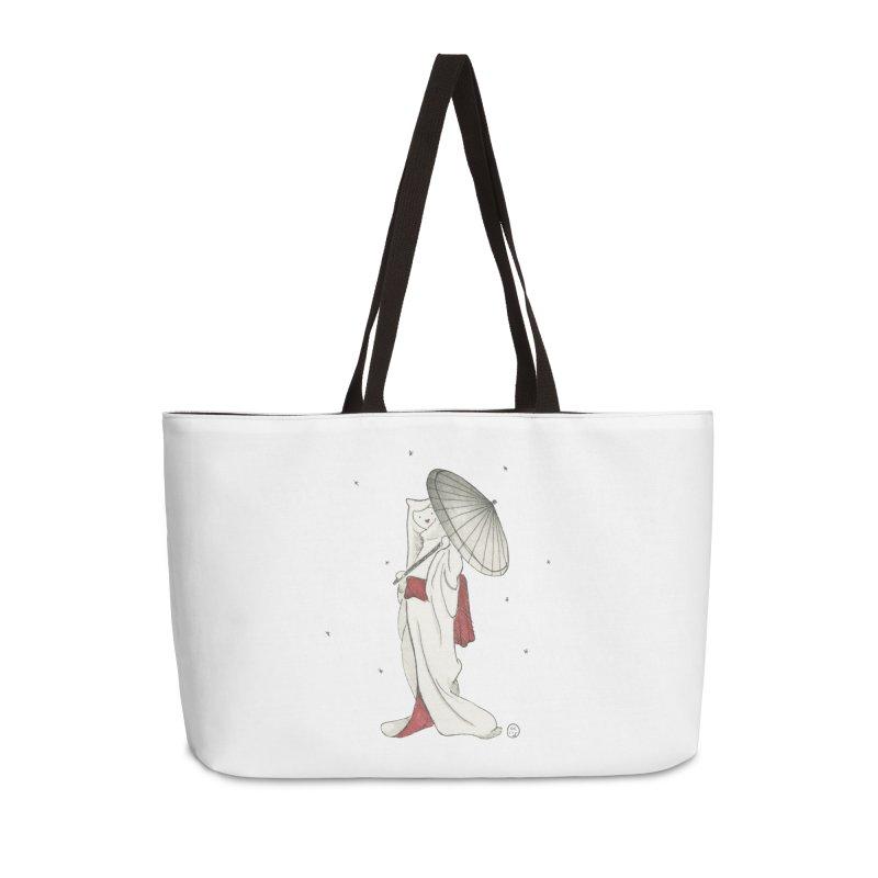 Yuki Hime  Accessories Weekender Bag Bag by Stephanie Inagaki