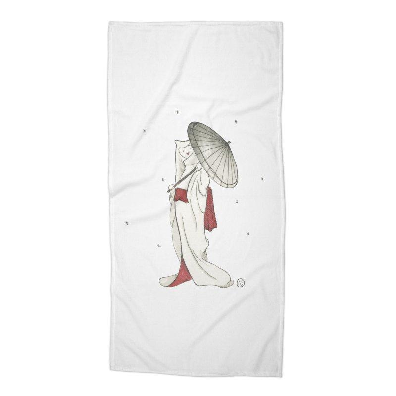 Yuki Hime  Accessories Beach Towel by stephanieinagaki's Artist Shop