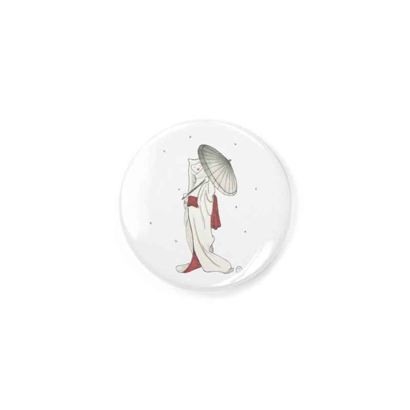 Yuki Hime  Accessories Button by Stephanie Inagaki