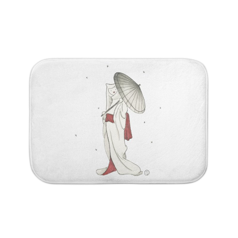 Yuki Hime  Home Bath Mat by stephanieinagaki's Artist Shop
