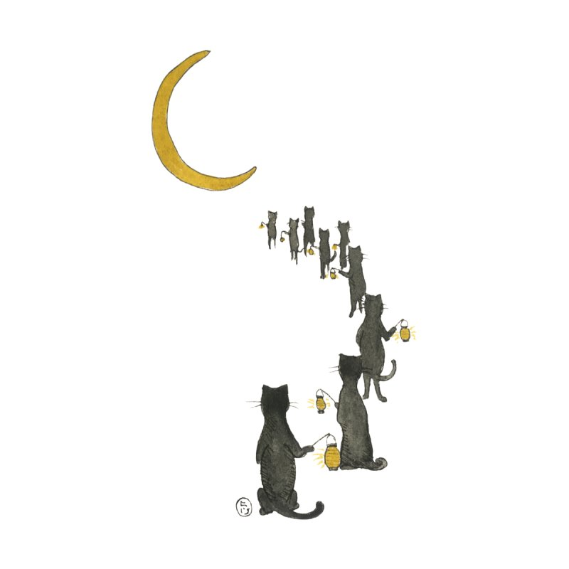 Neko Night Procession  by Stephanie Inagaki