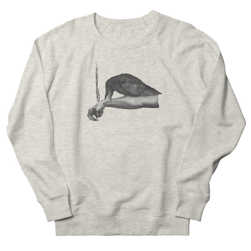 The Exorcism Demoneater Women's French Terry Sweatshirt by Stephanie Inagaki