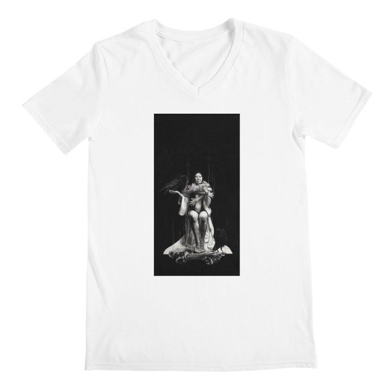 The Exorcism of Disembodied Souls Men's Regular V-Neck by stephanieinagaki's Artist Shop