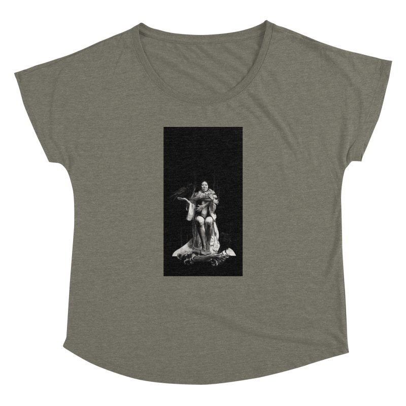 The Exorcism of Disembodied Souls Women's Dolman Scoop Neck by Stephanie Inagaki
