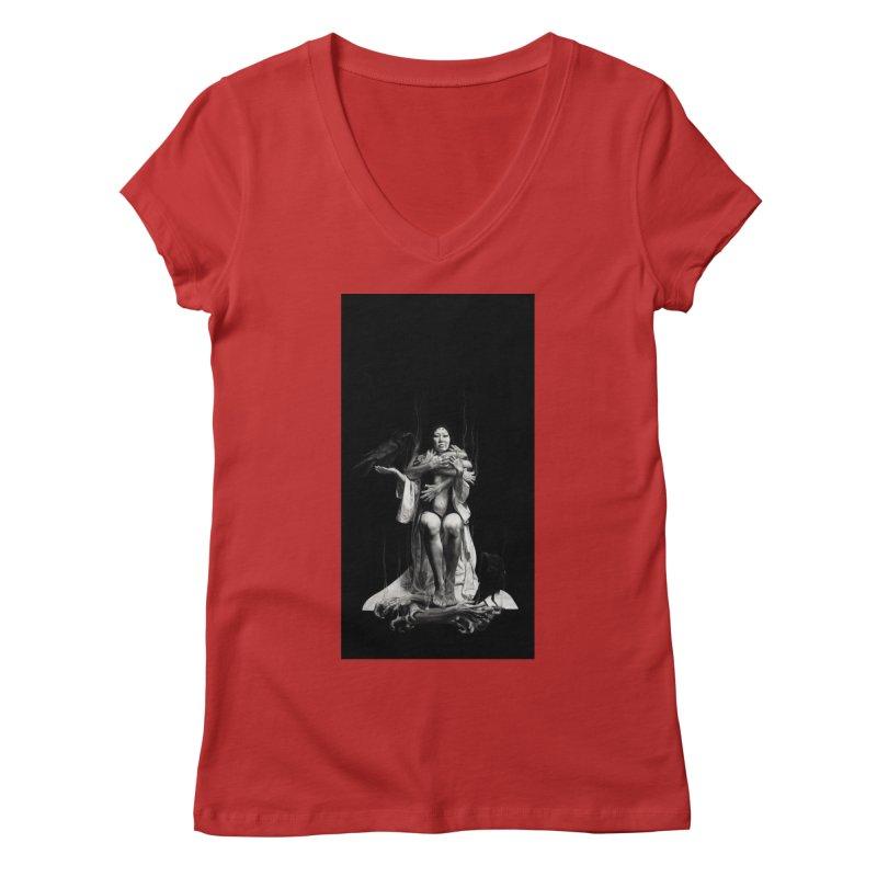 The Exorcism of Disembodied Souls Women's Regular V-Neck by stephanieinagaki's Artist Shop