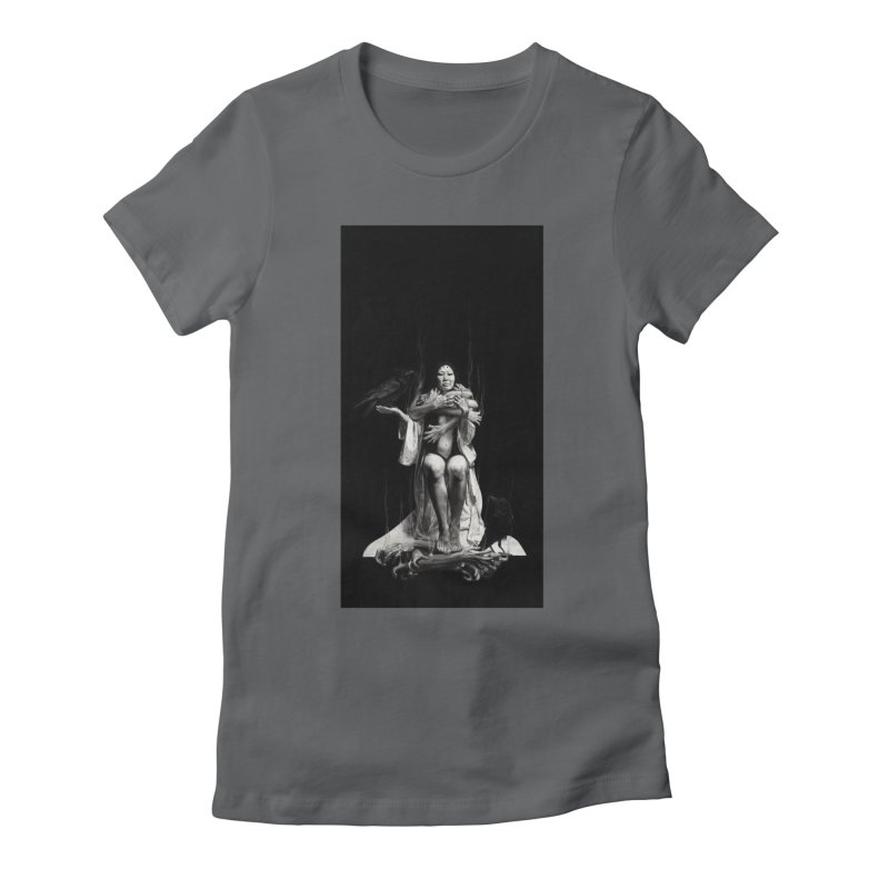 The Exorcism of Disembodied Souls Women's Fitted T-Shirt by stephanieinagaki's Artist Shop