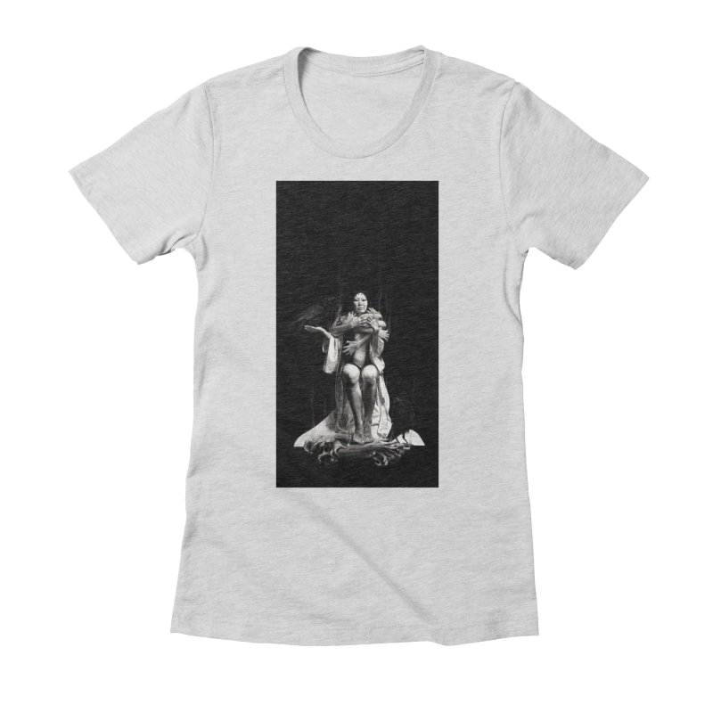 The Exorcism of Disembodied Souls Women's Fitted T-Shirt by Stephanie Inagaki