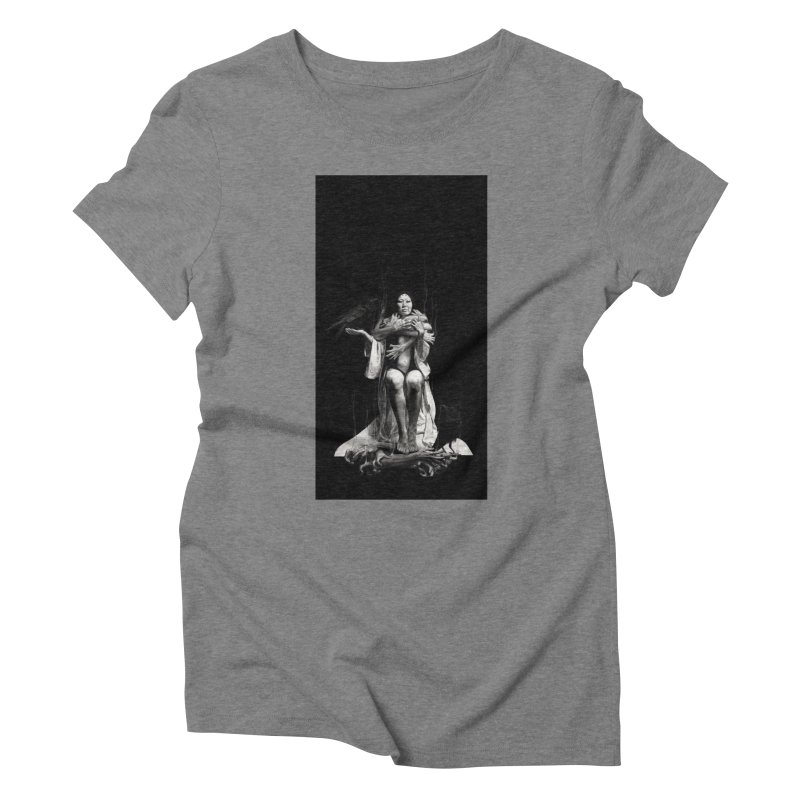 The Exorcism of Disembodied Souls Women's Triblend T-Shirt by stephanieinagaki's Artist Shop