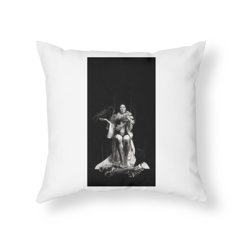 The Exorcism of Disembodied Souls Home Throw Pillow by stephanieinagaki's Artist Shop