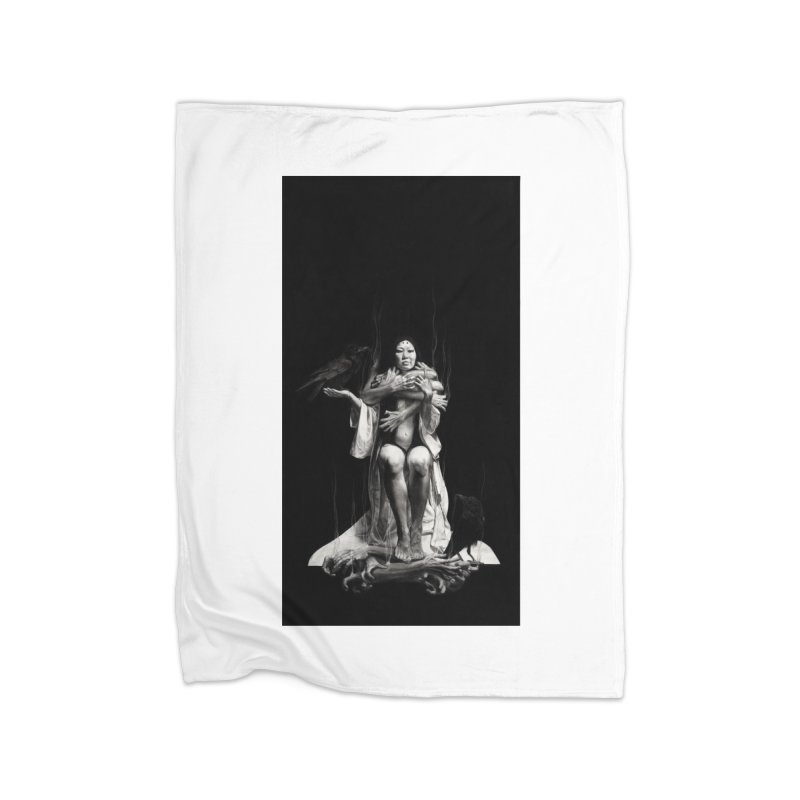 The Exorcism of Disembodied Souls Home Blanket by Stephanie Inagaki