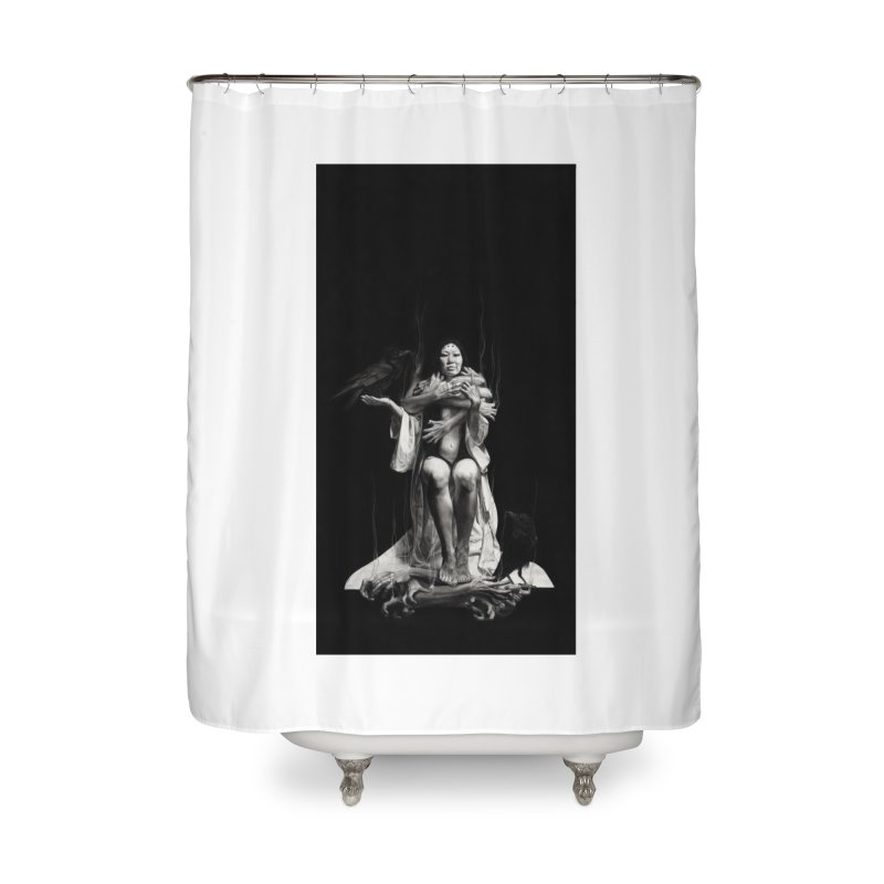 The Exorcism of Disembodied Souls Home Shower Curtain by stephanieinagaki's Artist Shop