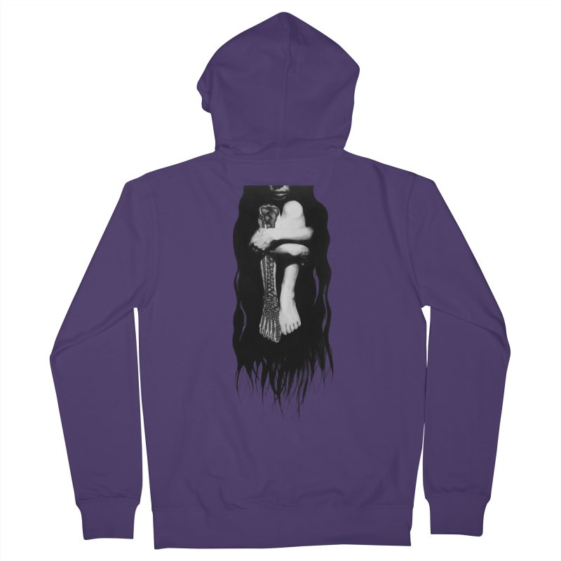 Untitled Women's French Terry Zip-Up Hoody by stephanieinagaki's Artist Shop