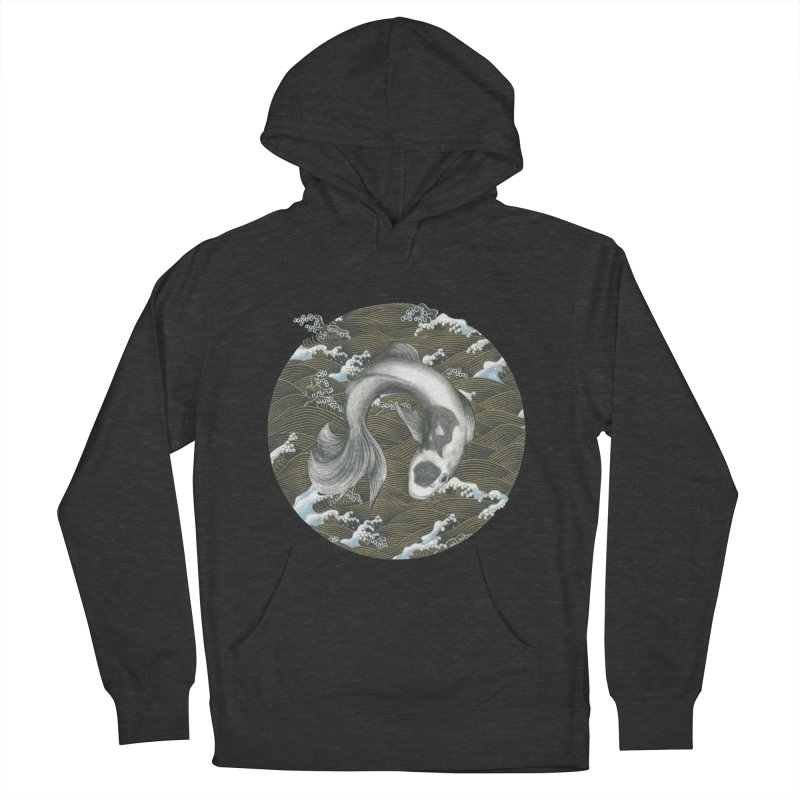 Nami Men's French Terry Pullover Hoody by Stephanie Inagaki