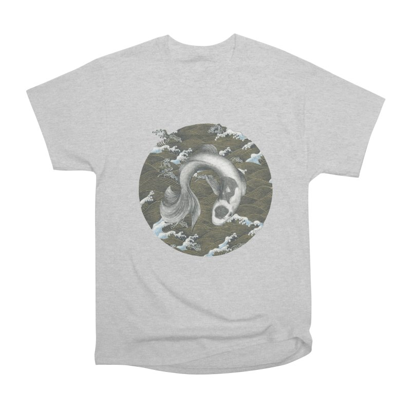 Nami Women's Heavyweight Unisex T-Shirt by Stephanie Inagaki
