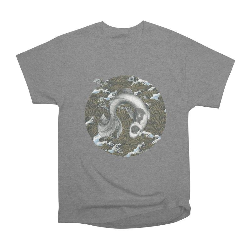 Nami Men's Heavyweight T-Shirt by Stephanie Inagaki