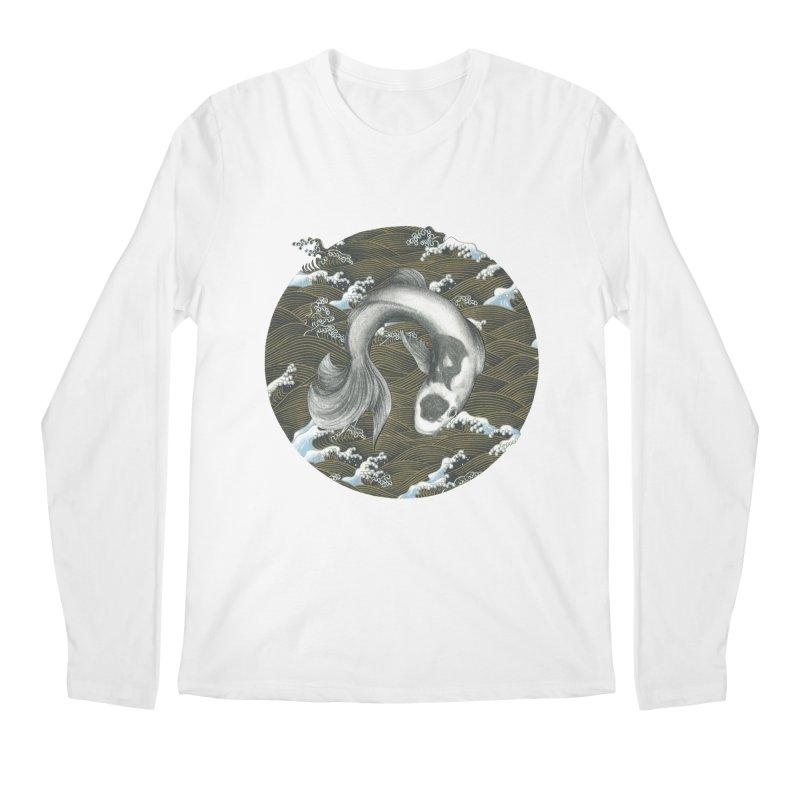 Nami Men's Regular Longsleeve T-Shirt by Stephanie Inagaki