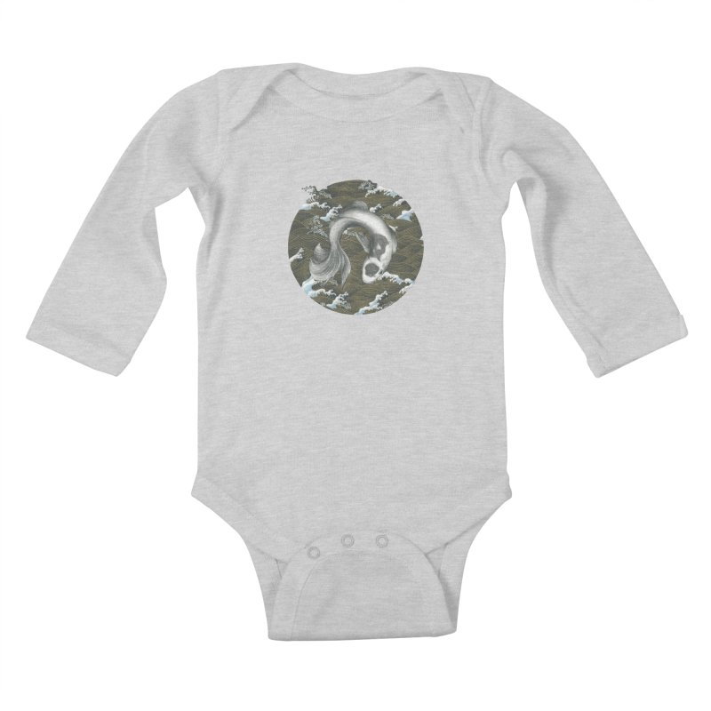 Nami Kids Baby Longsleeve Bodysuit by stephanieinagaki's Artist Shop