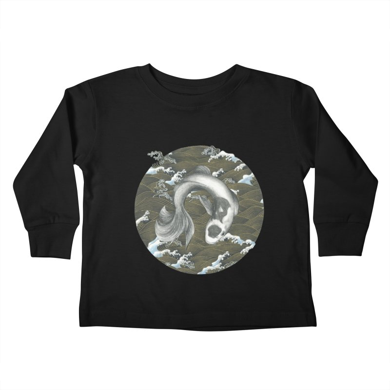 Nami Kids Toddler Longsleeve T-Shirt by Stephanie Inagaki