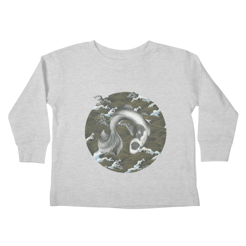 Nami Kids Toddler Longsleeve T-Shirt by stephanieinagaki's Artist Shop