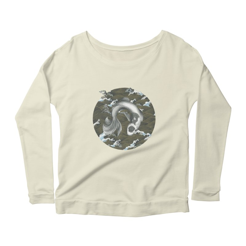 Nami Women's Scoop Neck Longsleeve T-Shirt by Stephanie Inagaki