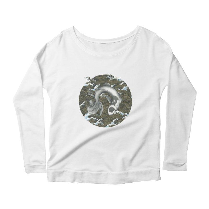 Nami Women's Scoop Neck Longsleeve T-Shirt by Stephanie Inagaki