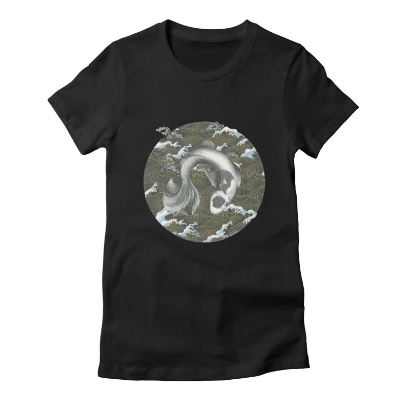 Nami Women's Fitted T-Shirt by Stephanie Inagaki
