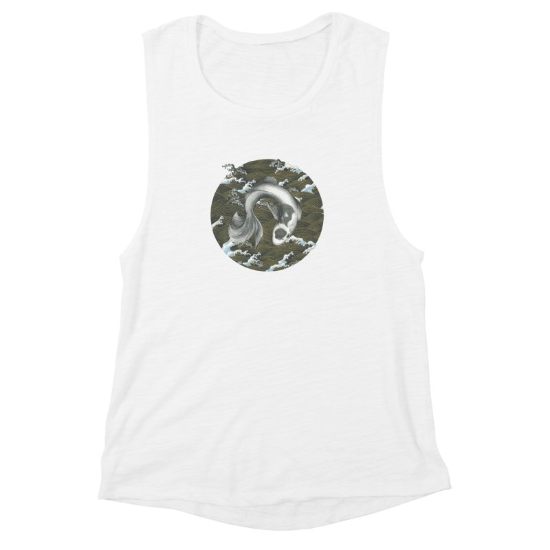 Nami Women's Muscle Tank by Stephanie Inagaki