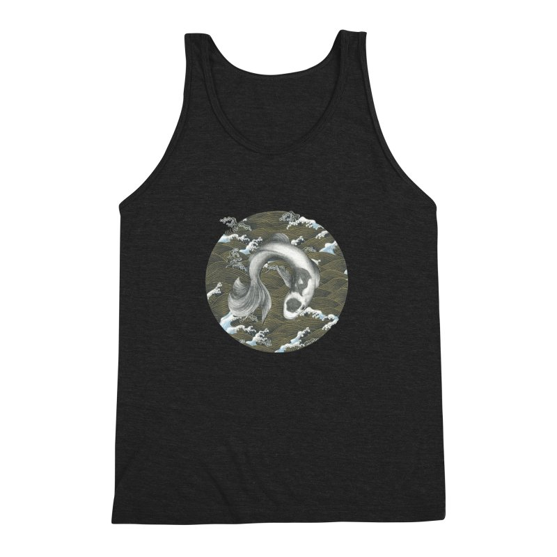 Nami Men's Triblend Tank by Stephanie Inagaki