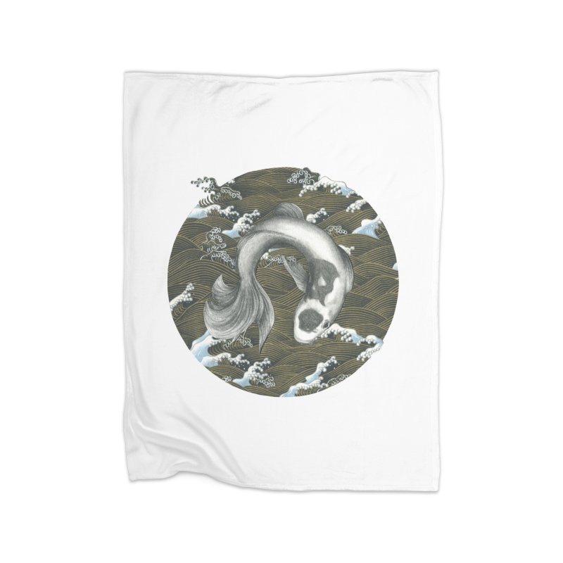 Nami Home Fleece Blanket Blanket by Stephanie Inagaki