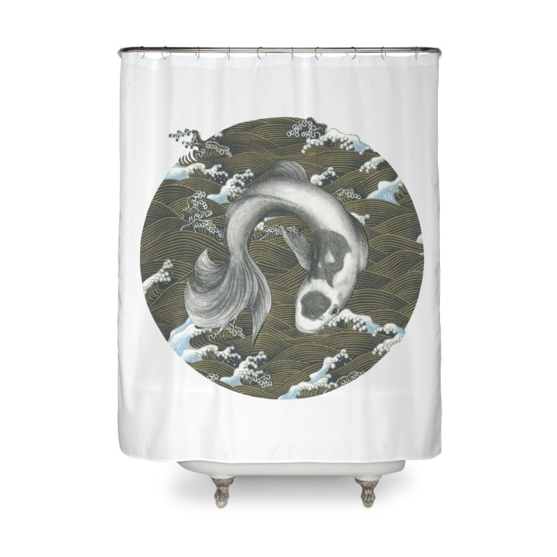 Nami Home Shower Curtain by Stephanie Inagaki