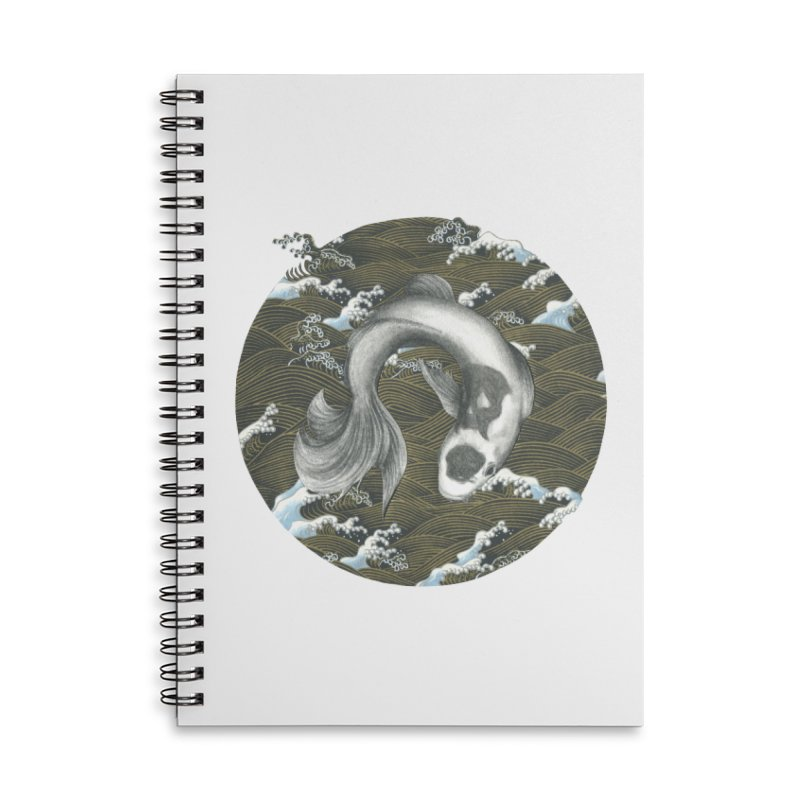 Nami Accessories Lined Spiral Notebook by Stephanie Inagaki