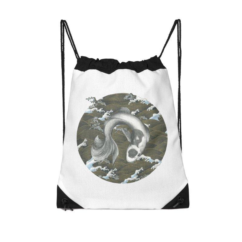 Nami Accessories Drawstring Bag Bag by Stephanie Inagaki
