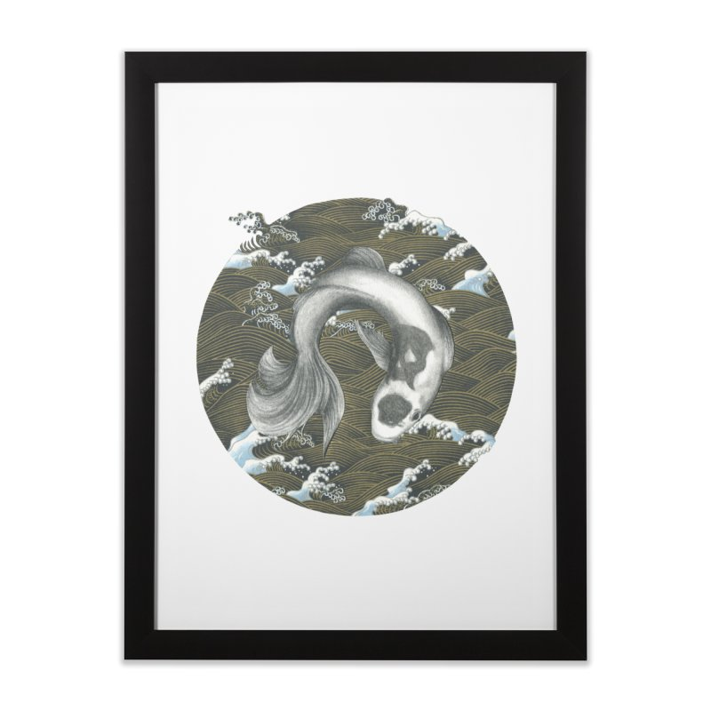 Nami Home Framed Fine Art Print by Stephanie Inagaki