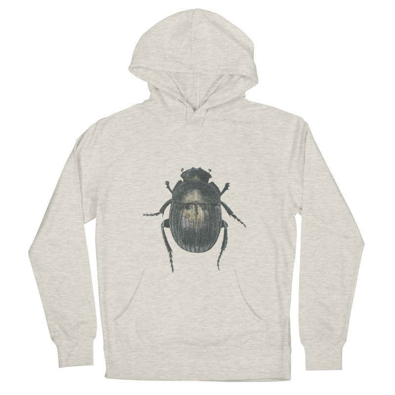 Death Scarab Women's French Terry Pullover Hoody by Stephanie Inagaki