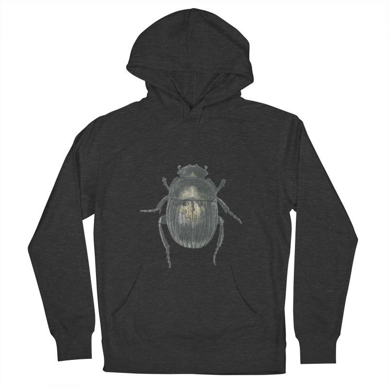 Death Scarab Men's French Terry Pullover Hoody by stephanieinagaki's Artist Shop