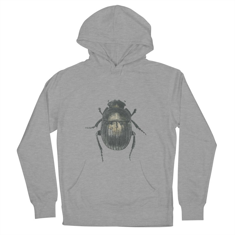 Death Scarab Men's French Terry Pullover Hoody by Stephanie Inagaki