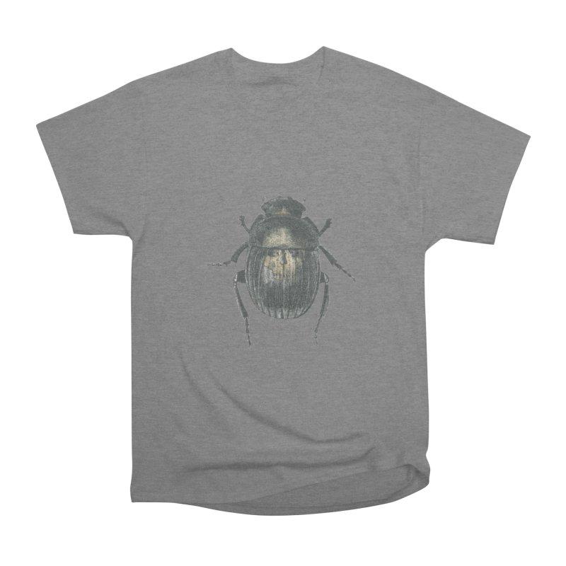 Death Scarab Men's Heavyweight T-Shirt by Stephanie Inagaki