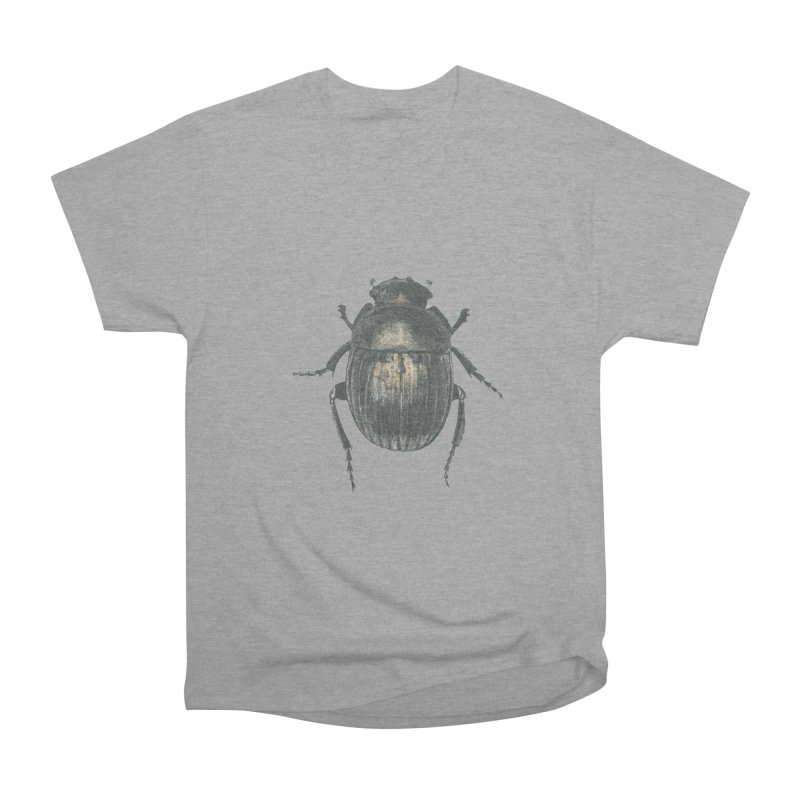 Death Scarab Men's Heavyweight T-Shirt by Stephanie Inagaki