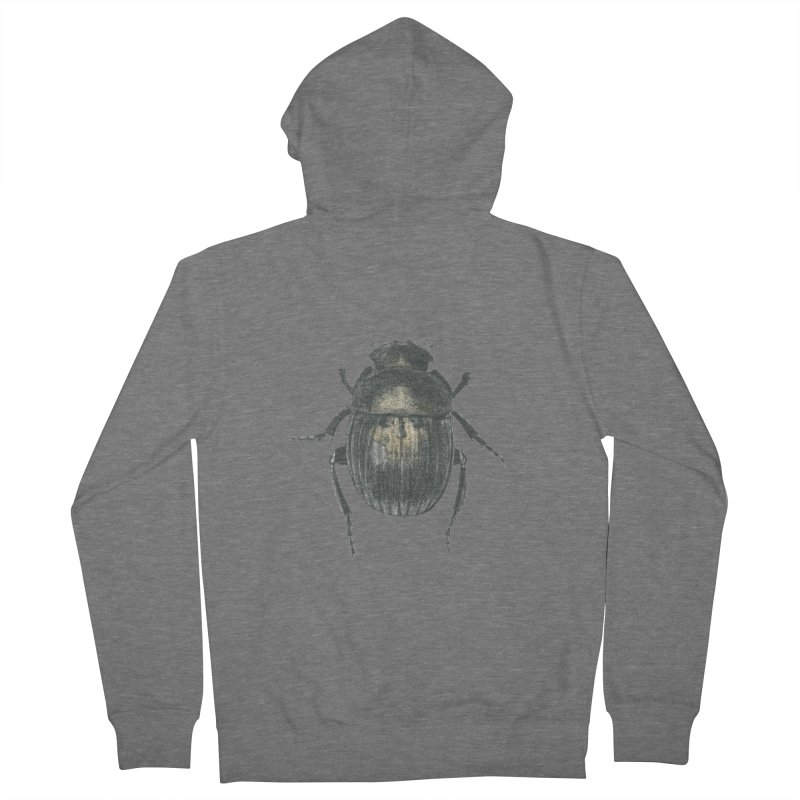 Death Scarab Women's French Terry Zip-Up Hoody by Stephanie Inagaki