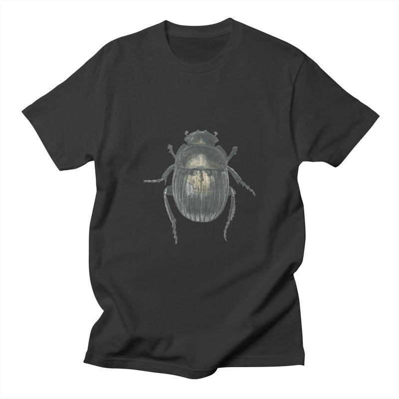 Death Scarab Men's Regular T-Shirt by Stephanie Inagaki