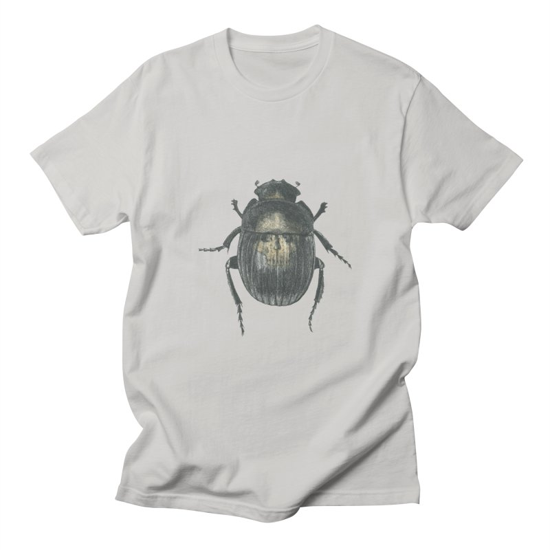 Death Scarab Men's Regular T-Shirt by Stephanie Inagaki