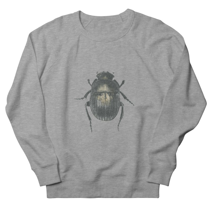 Death Scarab Women's French Terry Sweatshirt by Stephanie Inagaki