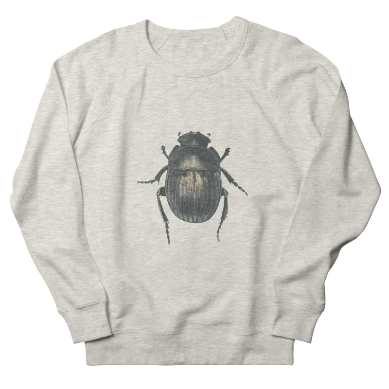 Death Scarab Men's French Terry Sweatshirt by Stephanie Inagaki