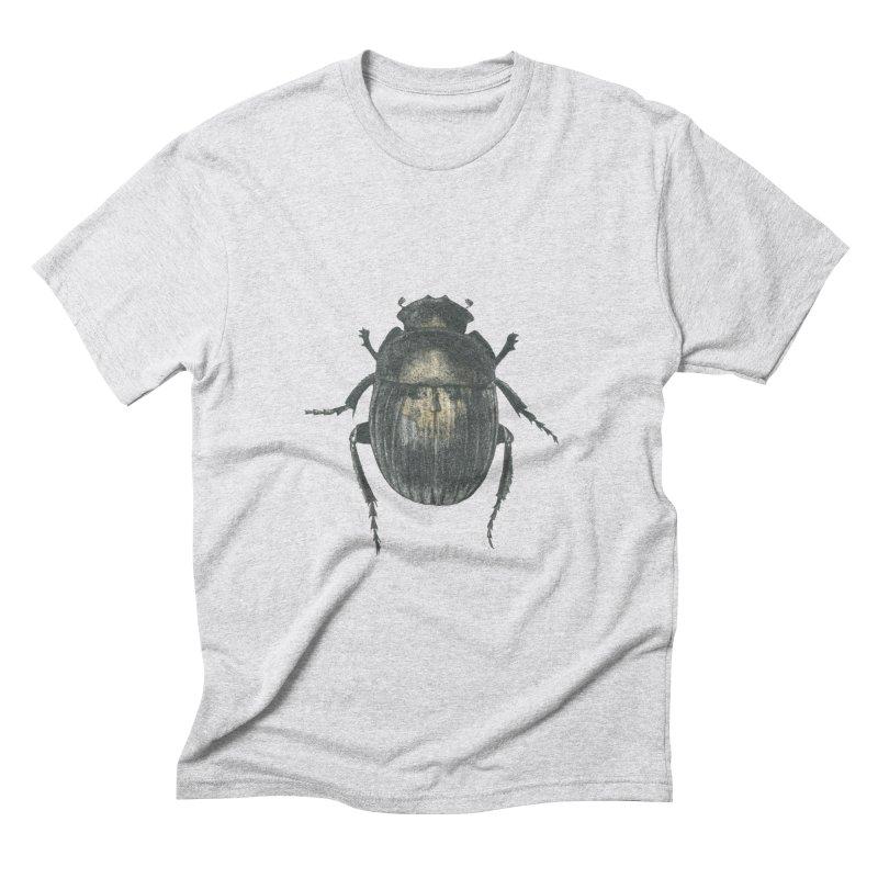 Death Scarab Men's Triblend T-Shirt by Stephanie Inagaki