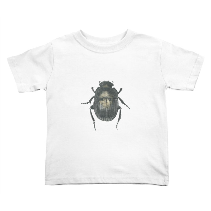 Death Scarab Kids Toddler T-Shirt by Stephanie Inagaki