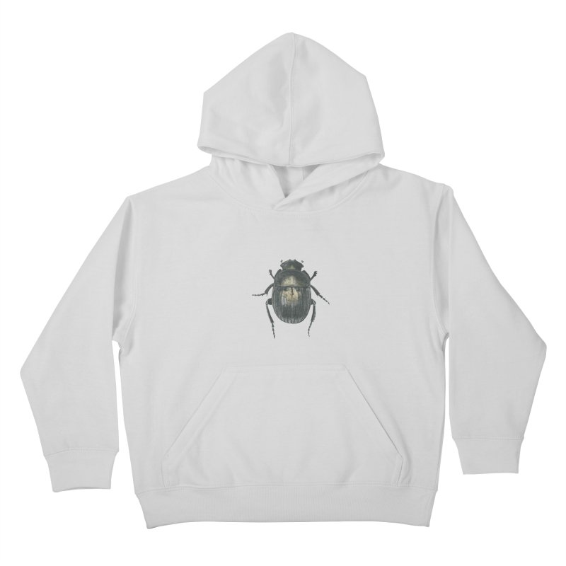 Death Scarab Kids Pullover Hoody by stephanieinagaki's Artist Shop