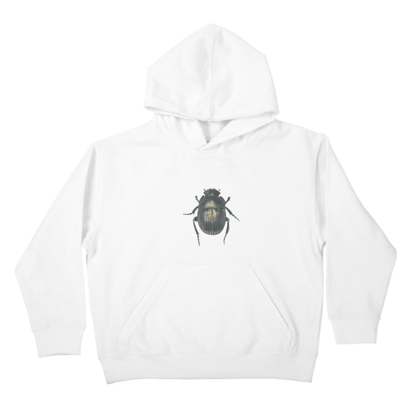 Death Scarab Kids Pullover Hoody by Stephanie Inagaki