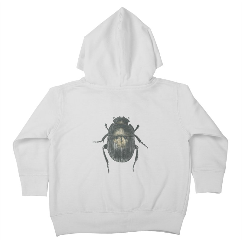 Death Scarab Kids Toddler Zip-Up Hoody by Stephanie Inagaki